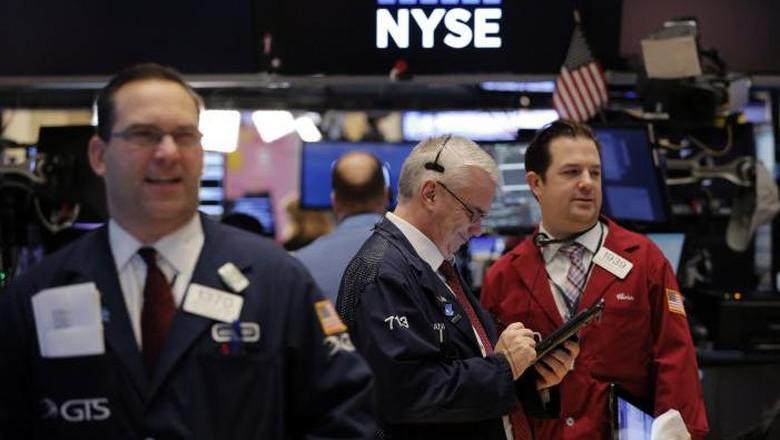 Saham Bank Bikin Wall Street Cetak Rekor