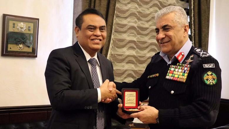 Wakapolri Bertemu Kepala Public Security Departement Yordania