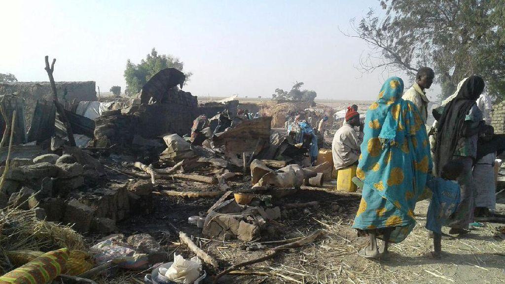 Salah Sasaran, Angkatan Udara Nigeria Tewaskan 52 Warga Sipil