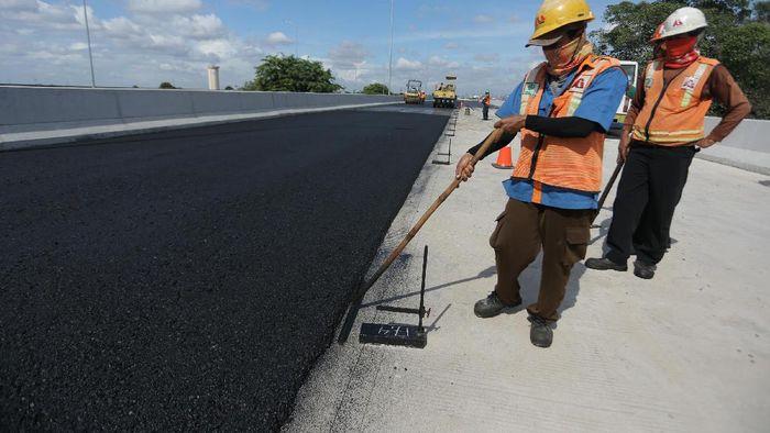 Ilustrasi Pembangunan Jalan Tol (Foto: Agung Pambudhy)