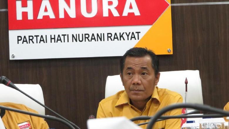Hanura Kubu Ambhara Gelar Rapat Tertutup di Hotel Sultan