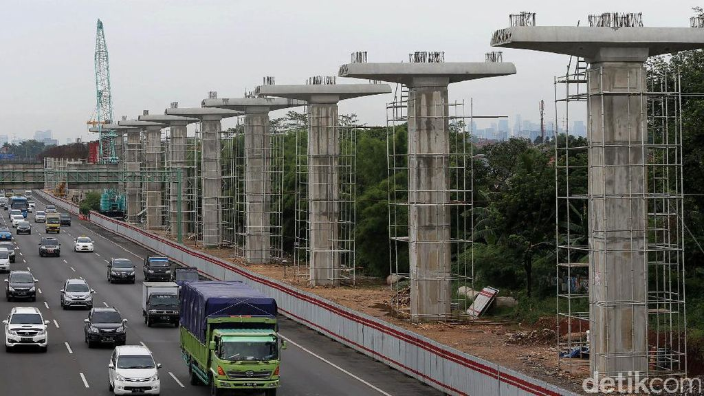 Pembangunan LRT Jabodebek Masih Terkendala Lahan di Bekasi