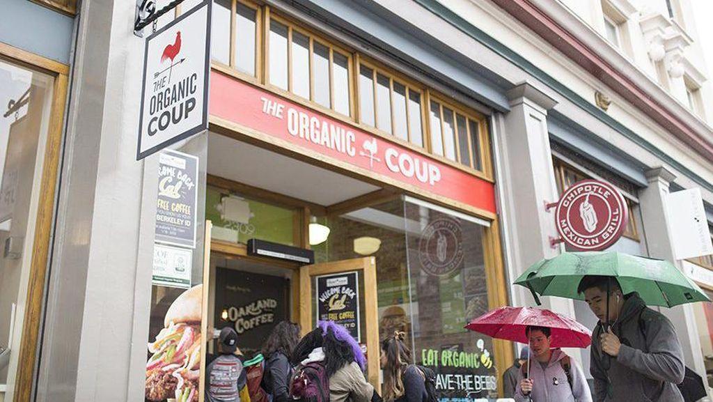 Restoran Bersertifikat Organik, The Organic Coup Buka Cabang Terbaru di Berkeley
