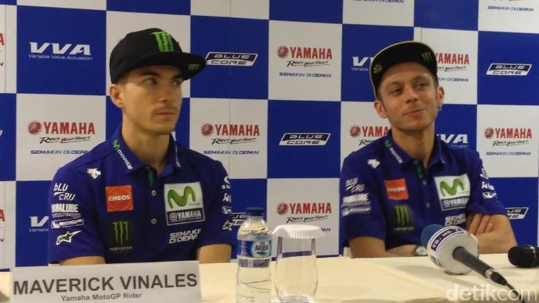 Rossi: Vinales Bisa Menang di Qatar, Siap Berebut Gelar Juara Dunia