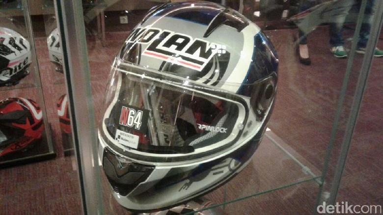 Nolan: Helm Kami Berstandar Helm NASA