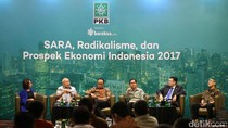 PKB Diskusi Soal Radikalisme dan Prospek Ekonomi 2017