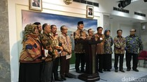 Jokowi Terima Cendekiawan Muslim Indonesia di Istana