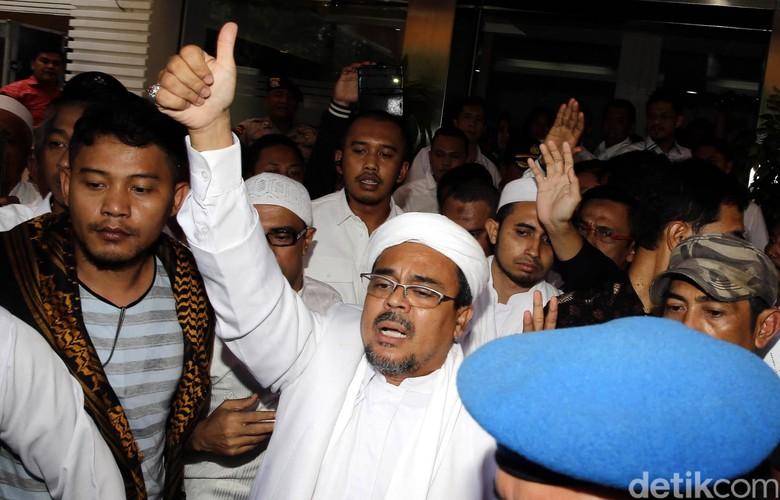 Polisi Siapkan Surat Perintah Penjemputan Habib Rizieq