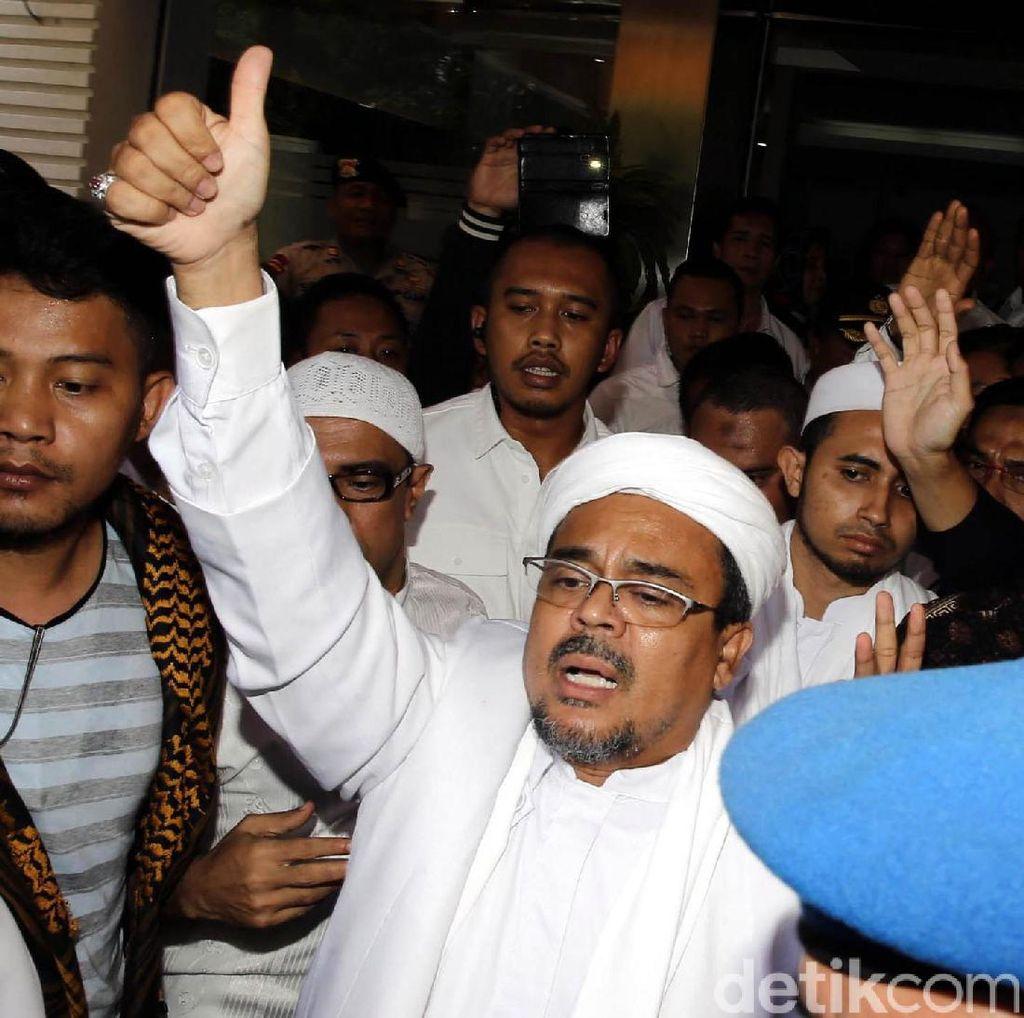 Batal Pulang, Habib Rizieq: Saya Belum Dapat Bisyarah yang Bagus