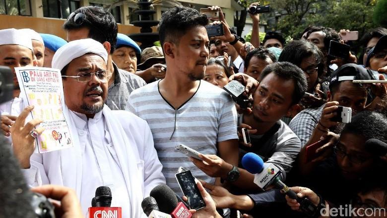 Eggi: Habib Rizieq Taat Hukum, tapi Jangan Dikriminalisasi