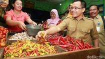 Bupati Anas Getol Cek Harga Cabai dan Bahan Pokok di Pasar