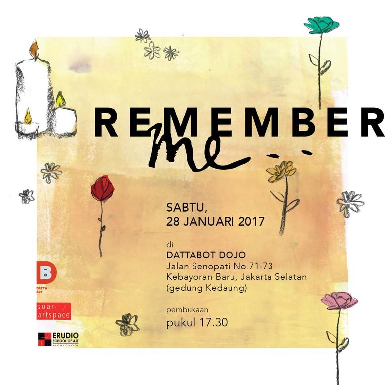 Lala Bohang dan Belasan Siswa ESoA Gelar Pameran Remember Me