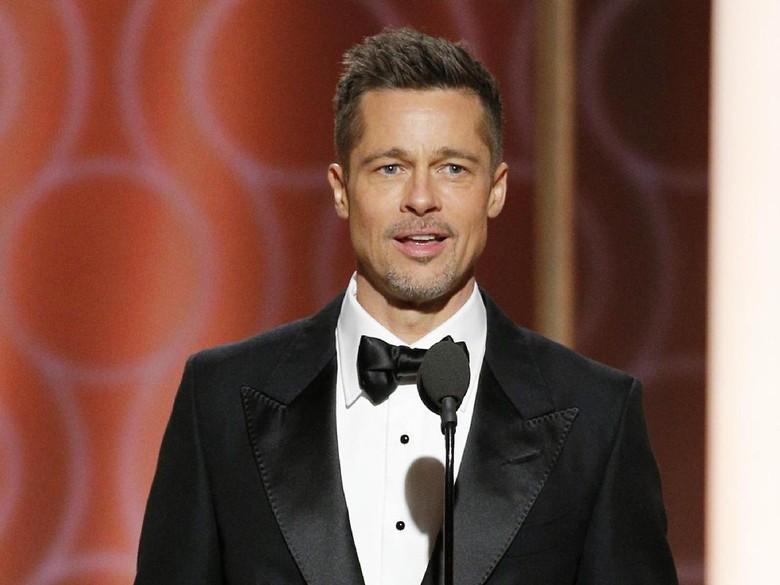 Brad Pitt Disebut Terpesona pada Aktris Muda Mirip Angelina Jolie Ini