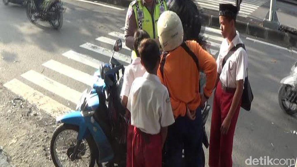 Polisi Razia Kendaraan Pelajar sebagai Efek Jera Pelanggaran