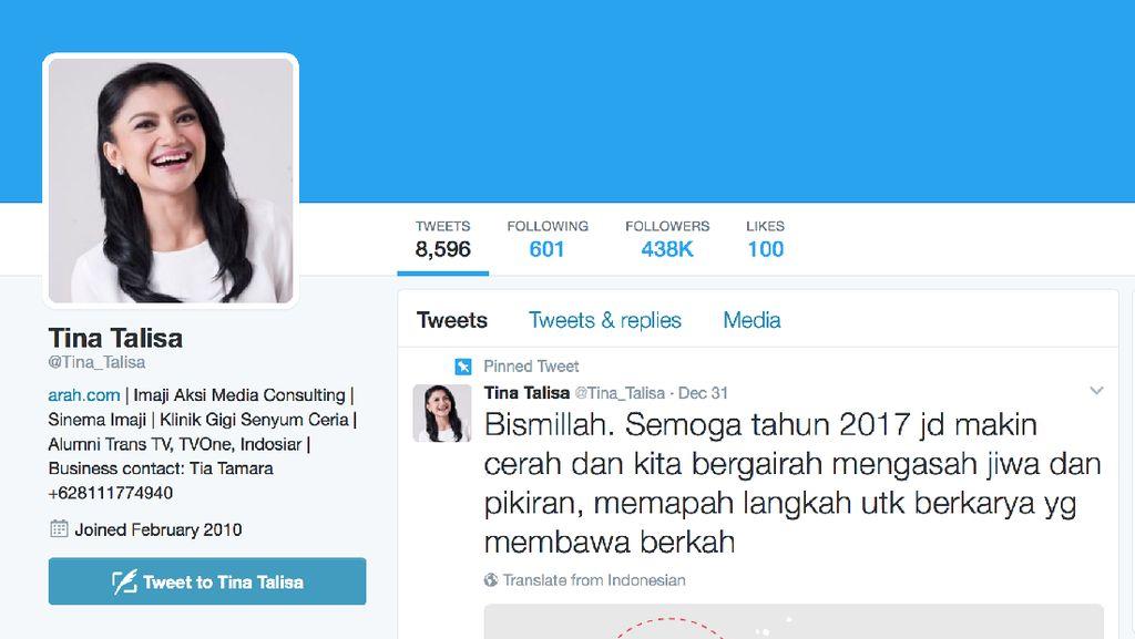 Sosok Tina Talisa, Presenter yang Jadi Moderator Debat Pilgub DKI