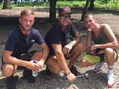 Inikah Traveler Beruntung yang Bertemu Valentino Rossi di Pulau Komodo?