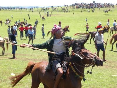 Liburan Menonton Festival Pasola Untuk Shio Kuda