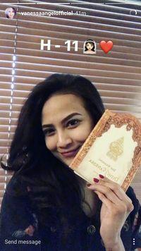 H-11 Pernikahan, Vannesa Angel dan Didi Mahardika Mulai Sebar Undangan