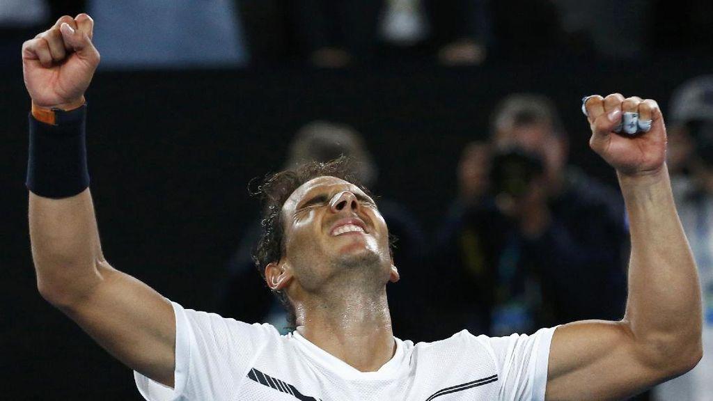 Nadal Tantang Federer di Final Australia Terbuka