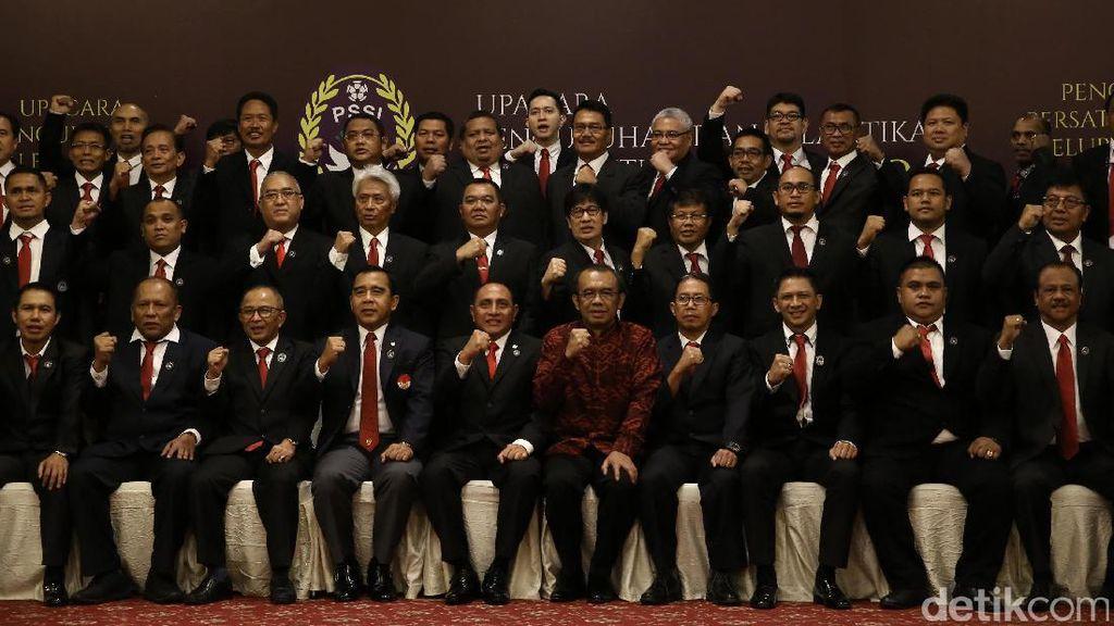 Pengurus PSSI 2016-2020 Resmi Dikukuhkan