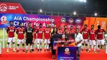 Pertarungan Bintang Sepak Bola di AIA Championship for Charity