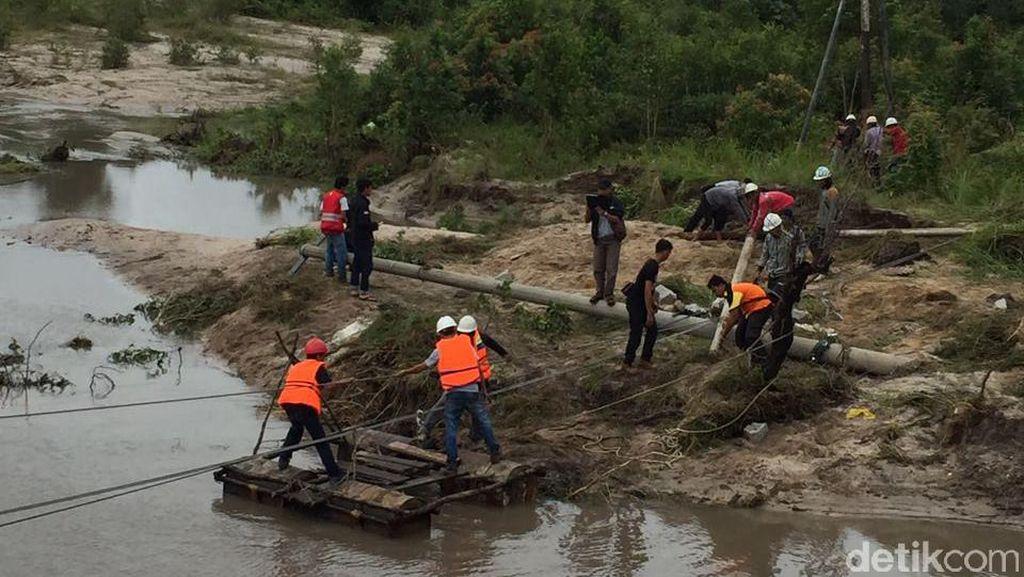 Pasokan Listrik di Wilayah Bangka Ini Pulih Pasca Banjir
