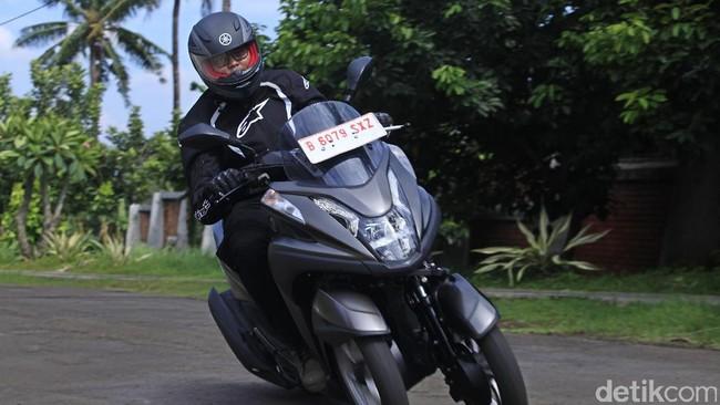 Yamaha Tricity, Asyik Diajak Meliuk-liuk di Jalanan