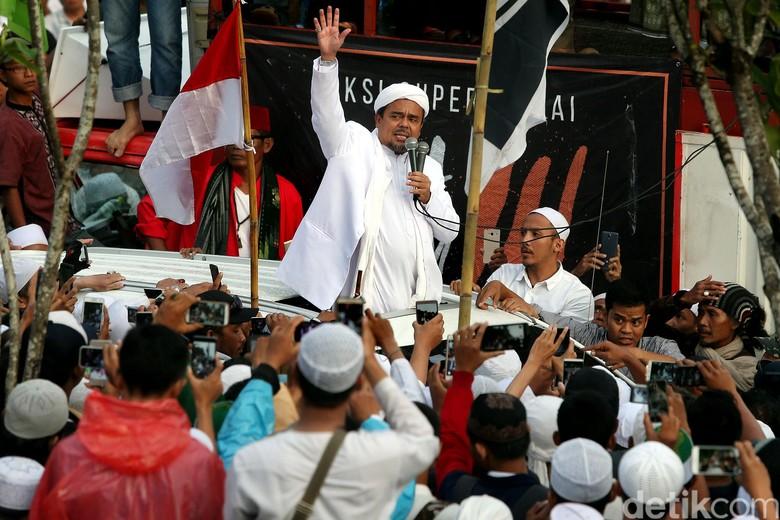 Kongres 212 Angkat Habib Rizieq Jadi Imam Besar Umat Indonesia