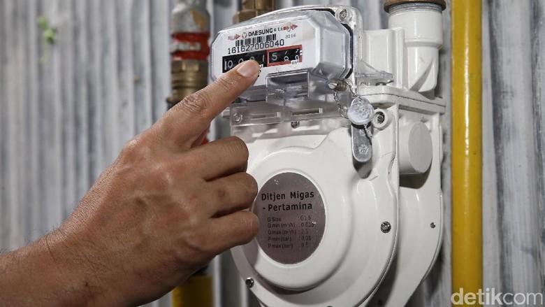 Proyek Jaringan Gas Rumah Tangga Batal Dapat Tambahan Anggaran