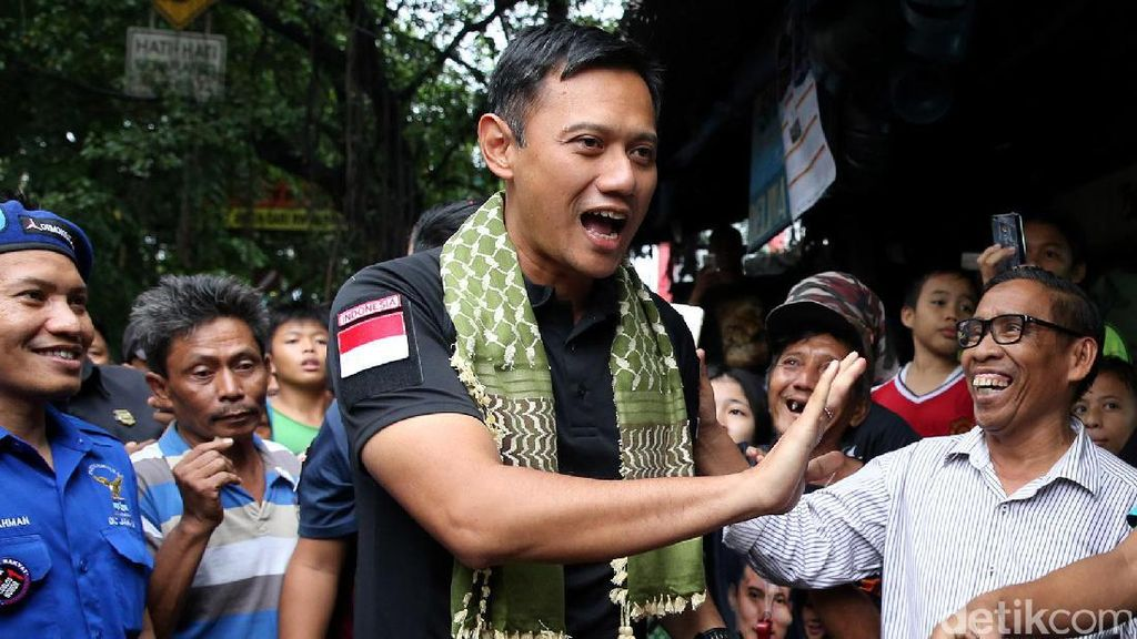AHY Gerilya ke Gang-gang Sempit di Cikini