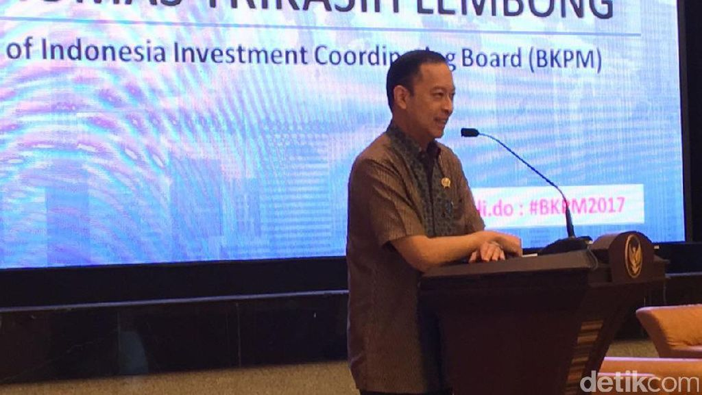 Kepala BKPM: Jaga Tingkat Konsumsi, Ekonomi RI Tumbuh di 5%