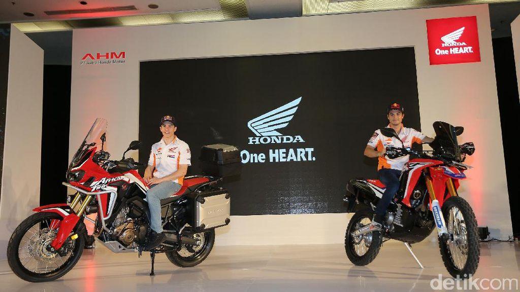Honda Luncurkan CRF250Rally dan Africa Twin untuk Indonesia