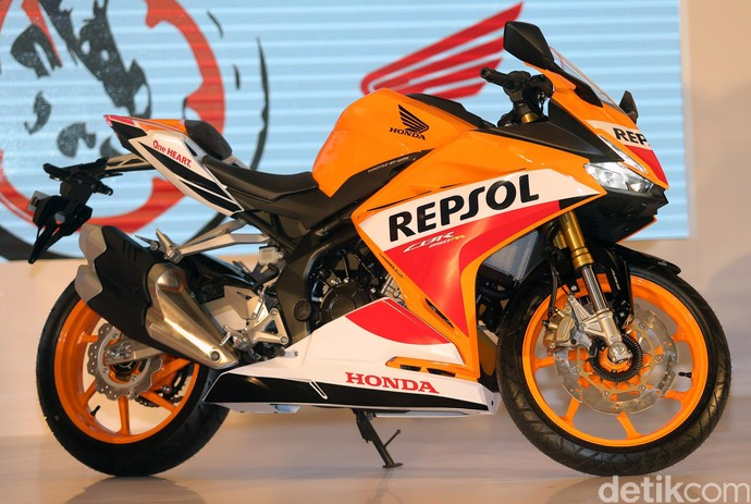 Honda CBR250RR Repsol Edition nan Gagah