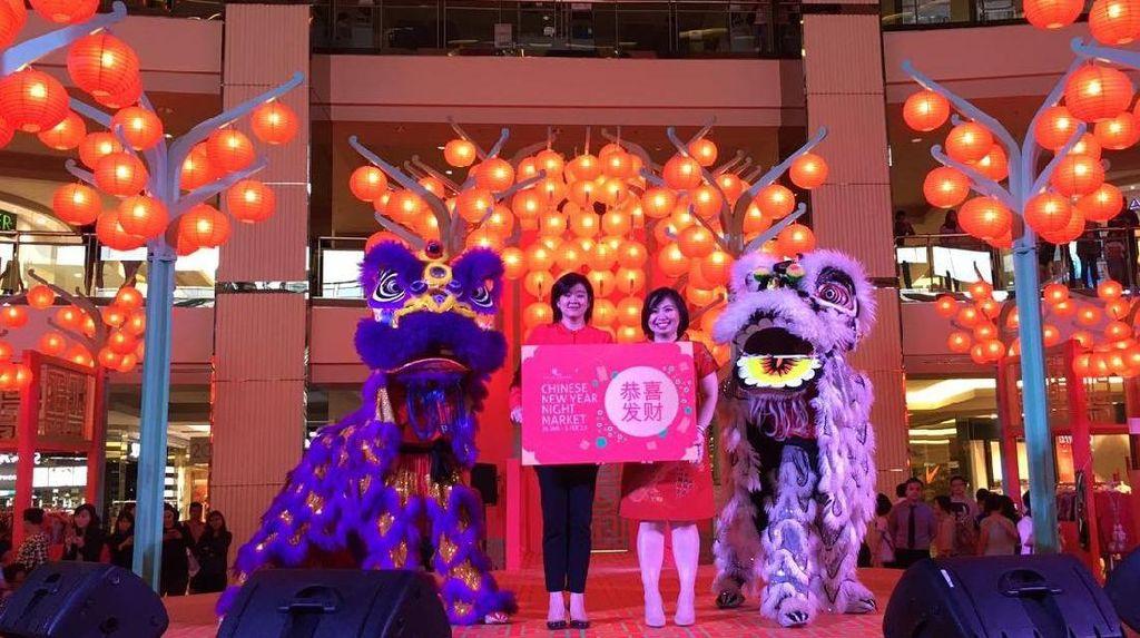 1.888 Lampion Hingga Diskon 70% Meriahkan Imlek di Mal Taman Anggrek