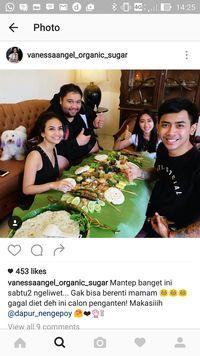 Jelang Menikah, Vannesa Angel dan Didi Mahardika Makan Bareng