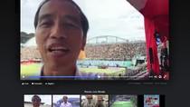 Ketika Jokowi Ketularan Kaesang Bikin Vlog