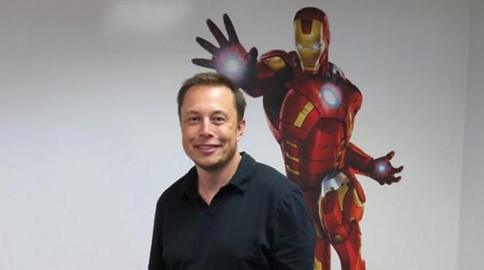 Foto: Elon Musk yang kerap dijuluki Iron Man