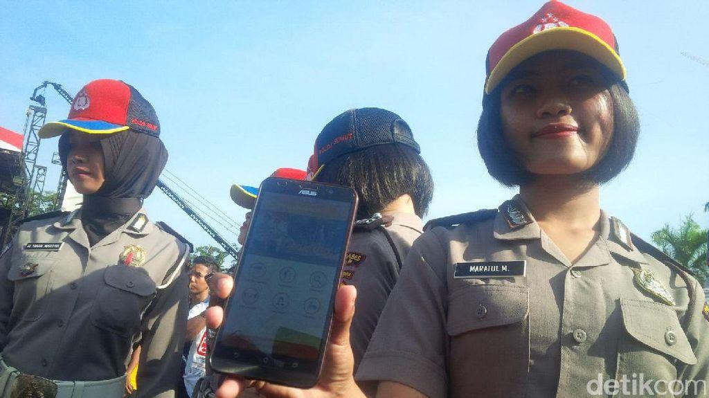 Kapolri Luncurkan Aplikasi Android Kepolisian Medan