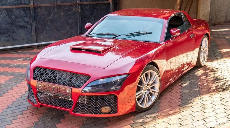 Pria Afrika Selatan Berhasil Buat Mobilnya Sendiri