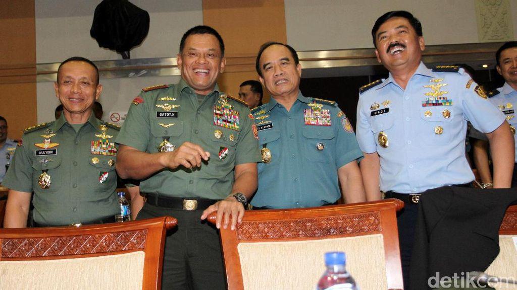 Panglima TNI yang Baru Juga Diusulkan dari TNI AL