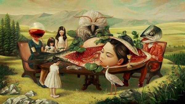 Perdana di Yogya, Kini Lukisan Roby Dwi Antono Dikenal hingga ke Mancanegara