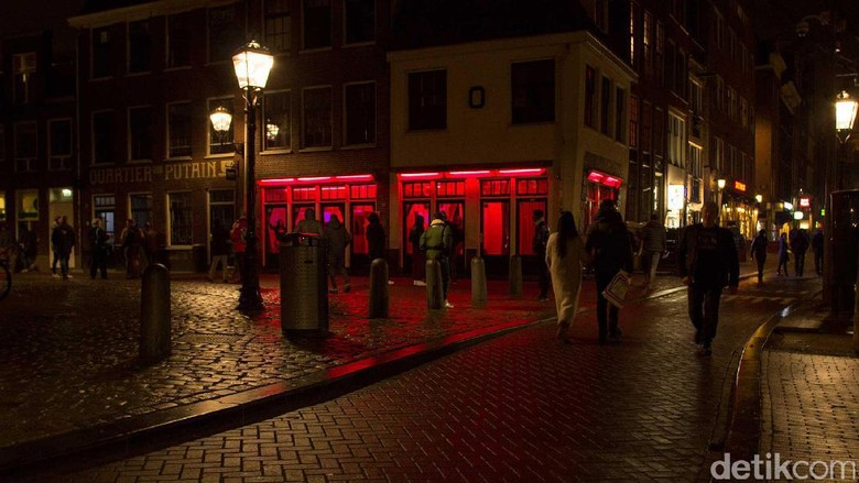 Red Light District Amsterdam di Belanda (Randy/detikTravel)