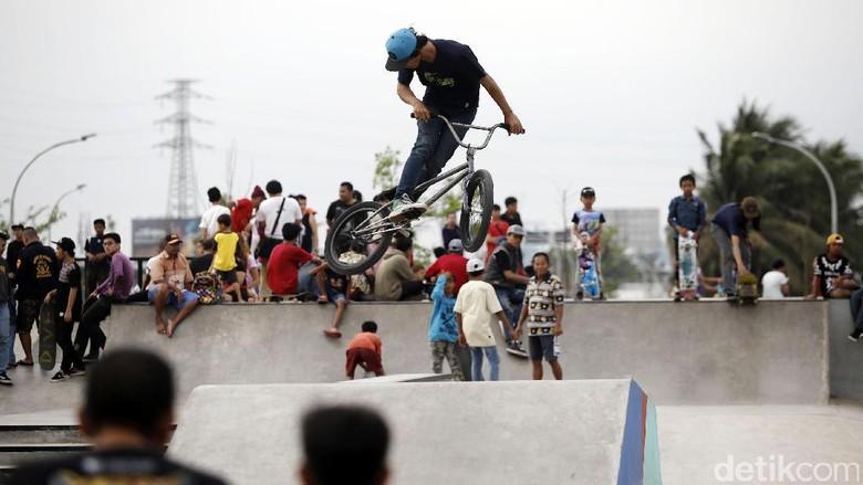 Wajah Taman Kalijodo terkini (Rachman Haryanto/detikTravel)