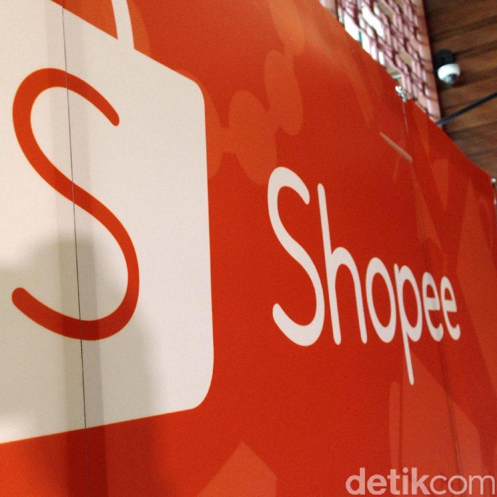 Shopee Klaim Alami Pertumbuhan 350% dengan 1 Juta Penjual