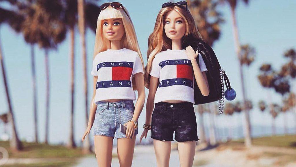 So Cute! Boneka Barbie Ini Mirip Banget Gigi Hadid