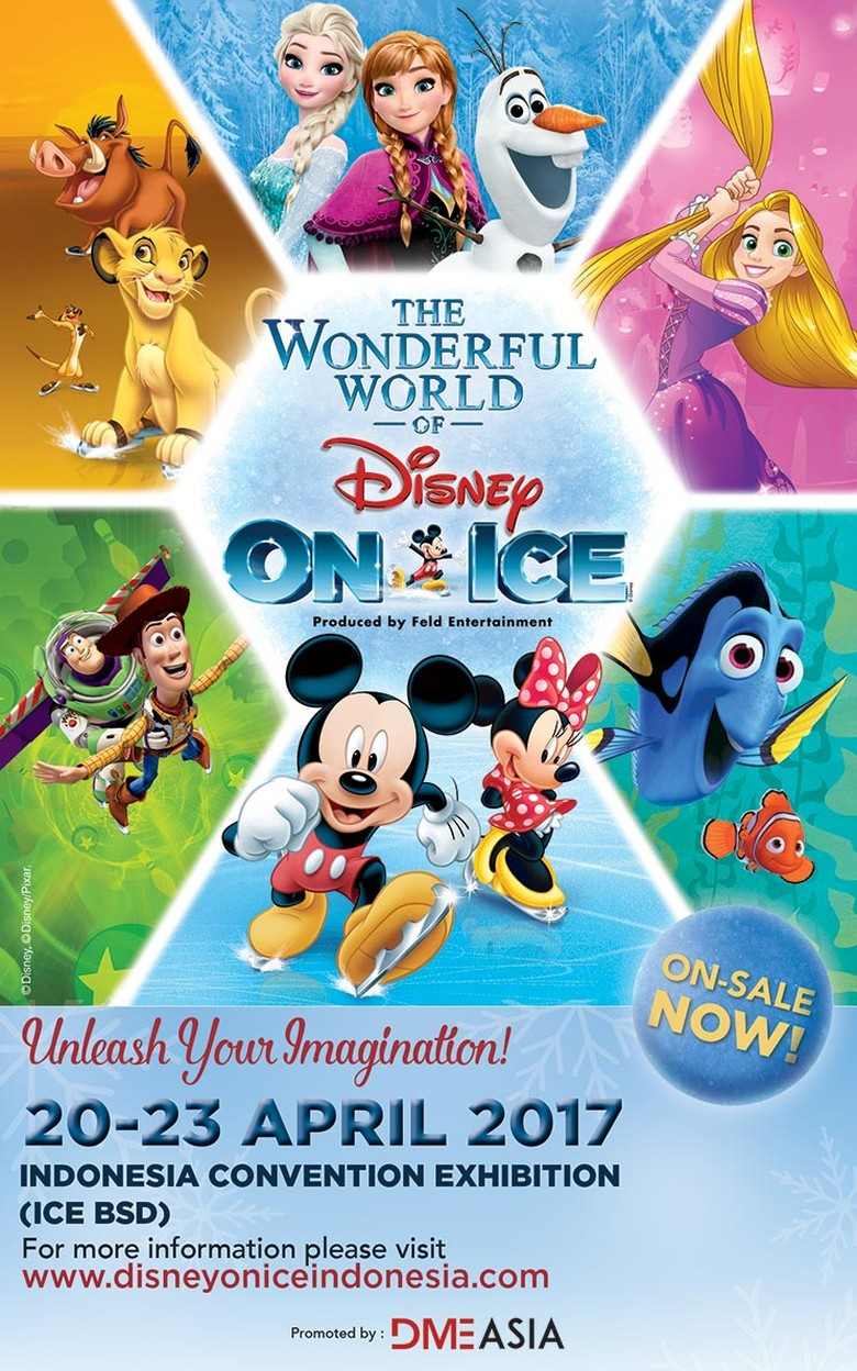 The Wonderful World of Disney on Ice Siap Digelar 20-23 April