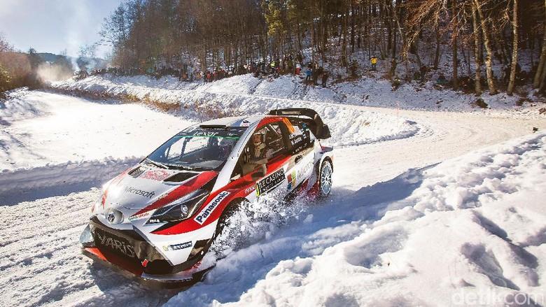 Toyota Yaris Siap Hadapi WRC Seri Kedua di Swedia