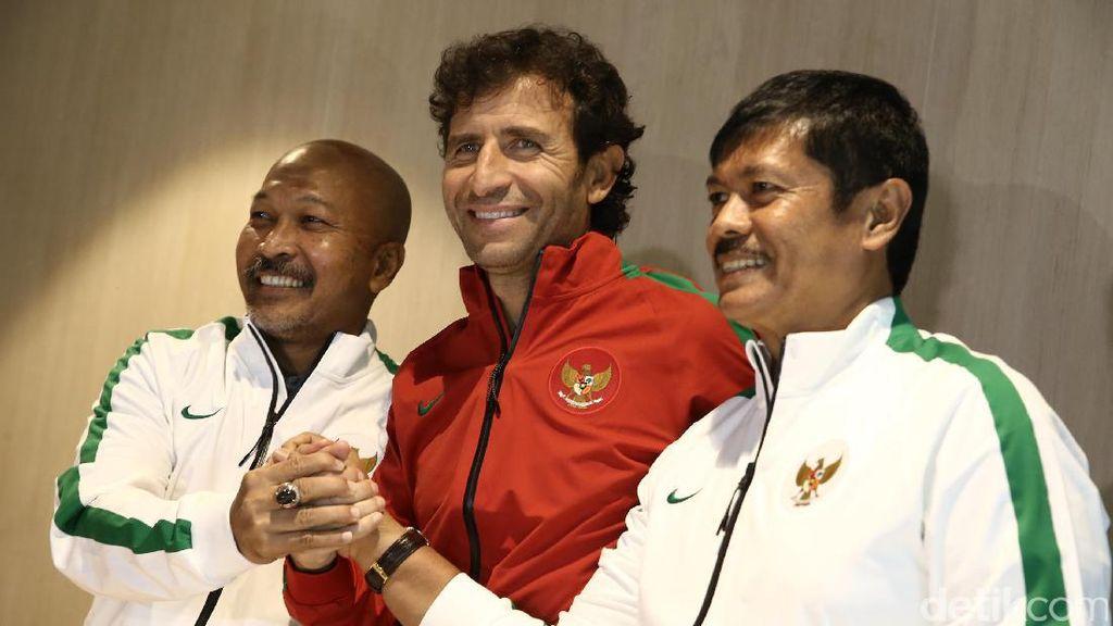 Luis Milla akan Bersinergi dengan Indra Sjafri dan Fachry Husaini