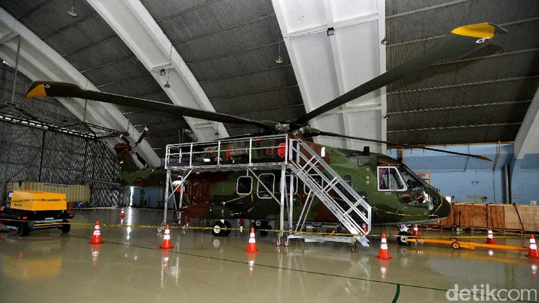 KSAU: Administrasi Pembelian Heli AW 101 Sudah Terpenuhi