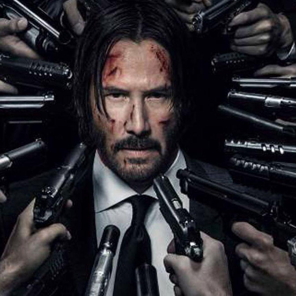 Aksi Brutal Keanu Reeves di John Wick 3 Rilis Tahun Depan